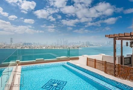 4 Bedroom Penthouse for Rent in Palm Jumeirah, Dubai - Available Sept | Genuine Price | Upgraded