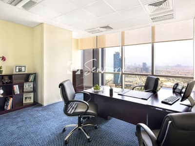 Office for Rent in Corniche Road, Abu Dhabi - Situate your Business in the Most Prestigious Business Address in Abu Dhabi