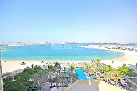 شقة 2 غرفة نوم للايجار في نخلة جميرا، دبي - Sea Facing | D Type | Beach Pool Gym | Vacant