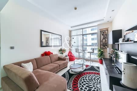 1 Bedroom Flat for Rent in Dubai Marina, Dubai - Fully Furnished 1BR | Free AC  | Vacant