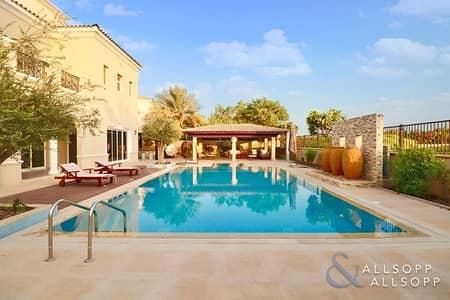 فیلا 6 غرف نوم للبيع في المرابع العربية، دبي - 6 Bedrroms | Golf Course View | Vacant