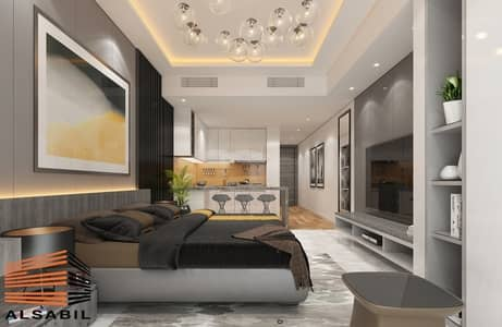 1 Bedroom Flat for Sale in Wadi Al Safa 2, Dubai - Fully Furnished 1 Bedroom Apartment with 7 Years Payment Plan