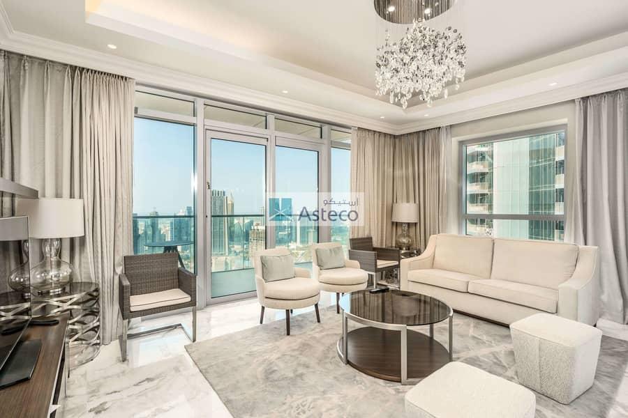 Beautiful Designed Penthouse | Burj Fountain Views