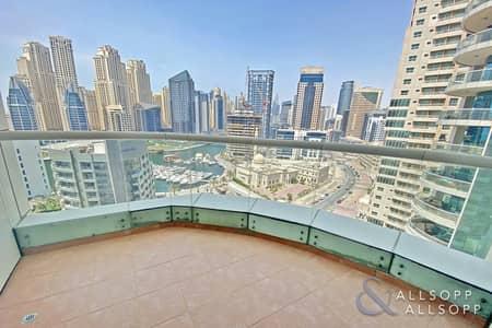 3 Bedroom Apartment for Sale in Dubai Marina, Dubai - Three Bed | 3 Balconies | Full Marina View