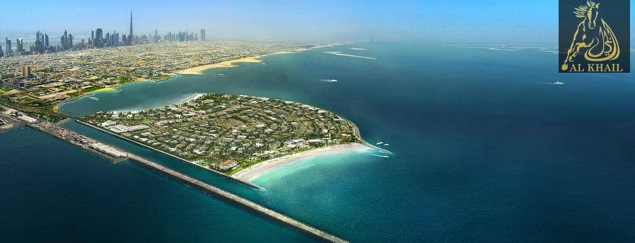 Freehold Residential villa plots in Pearl Jumeira Island