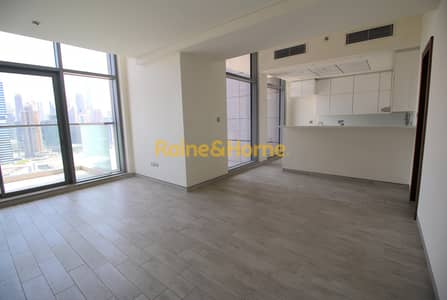 2 Bedroom Flat for Rent in Business Bay, Dubai - High Floor | Burj Khalifa Views | 2BR + Maids
