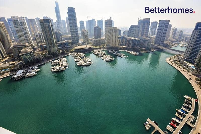 Full Marina View | Furnished | High Floor | Vacant