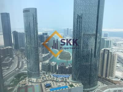 3 Bedroom Apartment for Rent in Al Reem Island, Abu Dhabi - Amazing 3 plus Maid Apt with Sea View