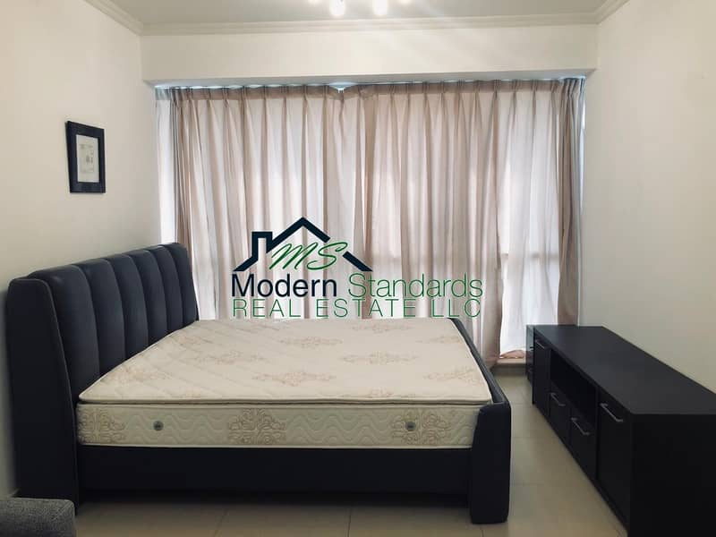 Fully Furnished Luxurious Studio in Gold Crest Executive JLT next to metro