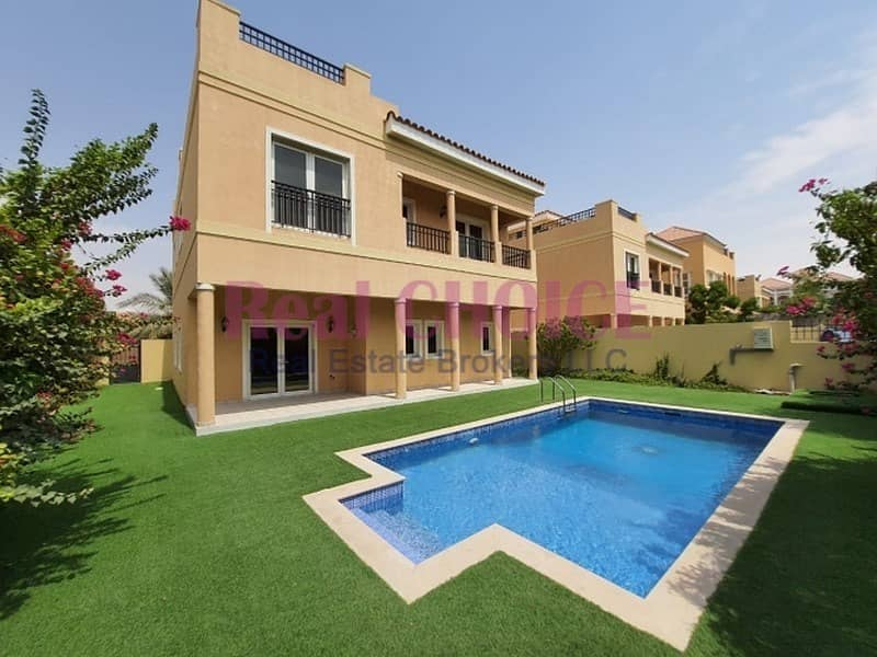5BR Mazaya A1| Landscape Garden|Swimming Pool