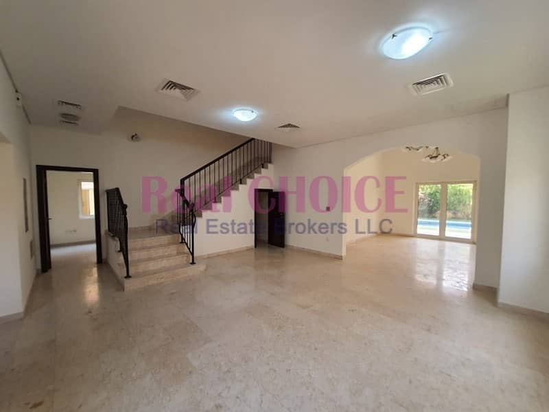 2 5BR Mazaya A1| Landscape Garden|Swimming Pool