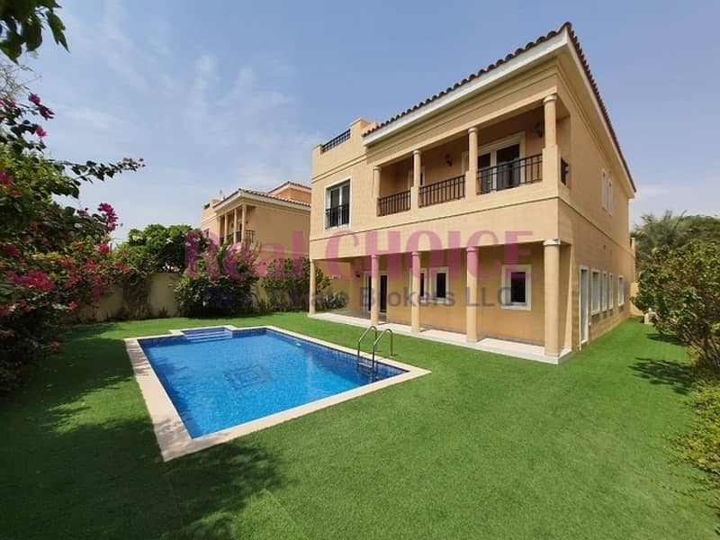 10 5BR Mazaya A1| Landscape Garden|Swimming Pool