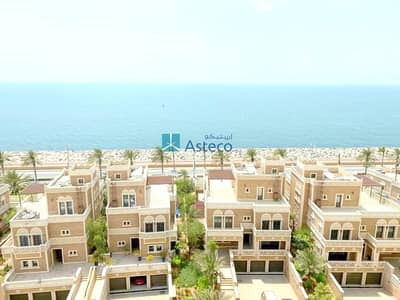 2 Bedroom Flat for Rent in Palm Jumeirah, Dubai - 2BR+Maids | Full Seaview | Large Balcony