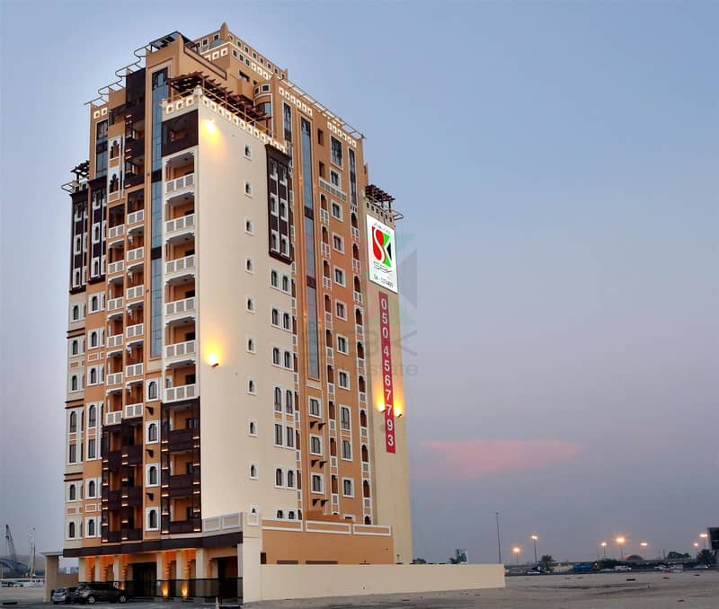 10 Spacious High Quality 3BR with Maidsroom In Jaddaf