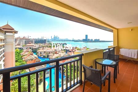 بنتهاوس 1 غرفة نوم للايجار في نخلة جميرا، دبي - Brand New | Top Floor | Sea View | Beach and Pool