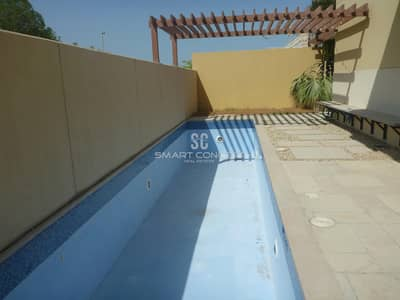 5 Bedroom Villa for Sale in Al Raha Gardens, Abu Dhabi - Rent Refund | Type A | Private pool & Garden