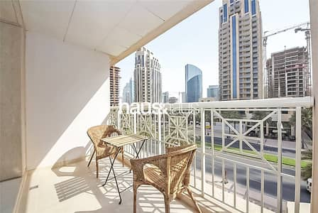 2 Bedroom Apartment for Rent in Downtown Dubai, Dubai - Chiller Free | Unfurnished | BLVD View