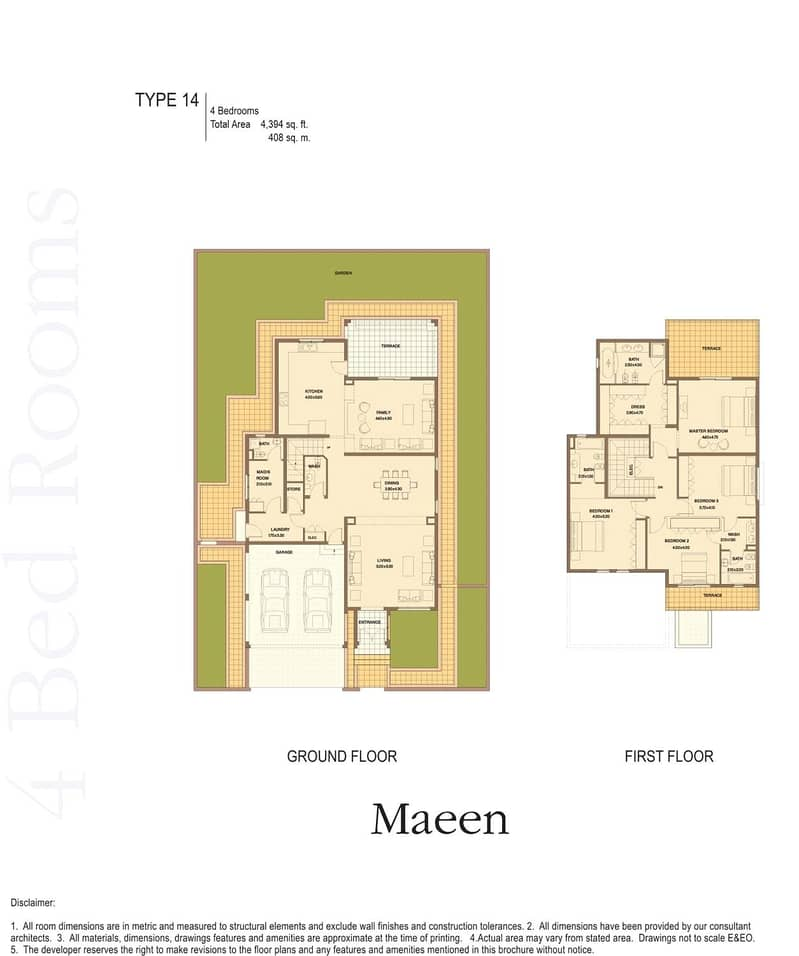 10 4 Beds   Corner Plot   Partially Upgraded