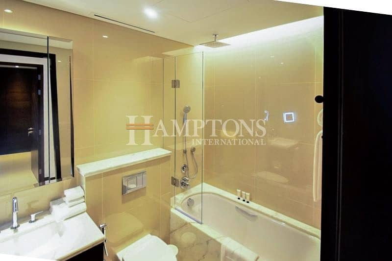 10 Exclusive | Large 1BR High Floor | Sky View