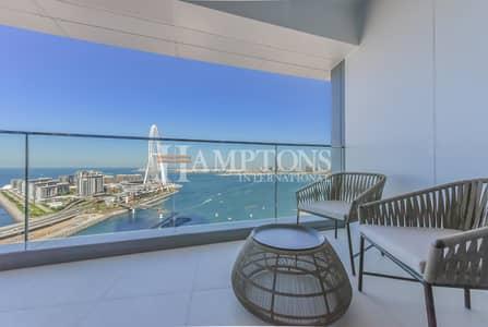 شقة 4 غرف نوم للبيع في جميرا بيتش ريزيدنس، دبي - Breathtaking View   Fully Furnished Apt