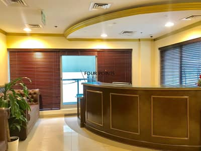 Office for Rent in Business Bay, Dubai - Furnished Office |  J Plaza Area|  Executive Towers