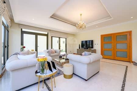 فیلا 4 غرف نوم للبيع في نخلة جميرا، دبي - Garden home Atrium Entry 4 bed villa |Beach access