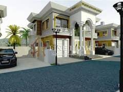 For Sale Villa   4 BR   Luxury Majilis