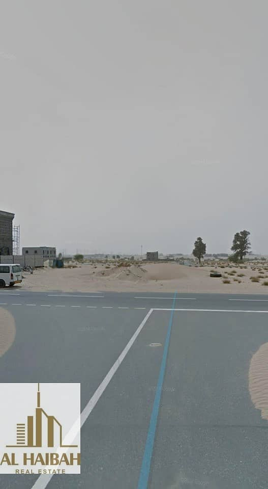 8 For sale residential land in Sharjah Al Hoshi area