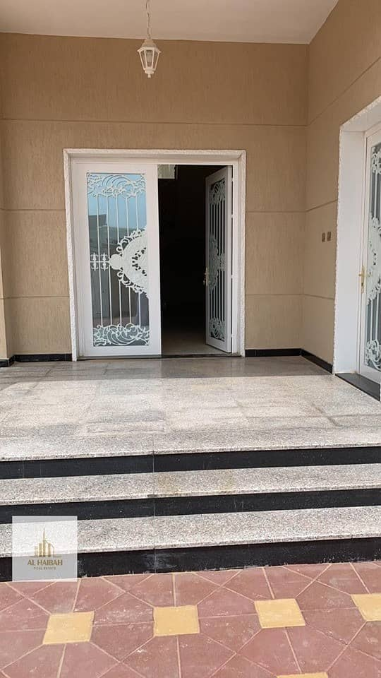 10 For sale new two-storey villa in Al-Azra with electricity and water