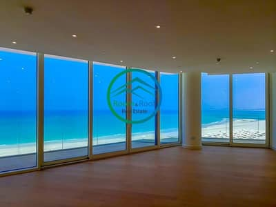 3 Bedroom Apartment for Rent in Saadiyat Island, Abu Dhabi - Panoramic Sea View | 3 Balconies | Brand New Apt | Ready to Move in