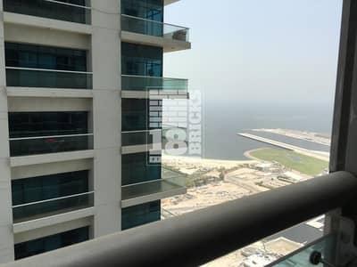 شقة 2 غرفة نوم للايجار في دبي مارينا، دبي - High Floor With Marina & Partial Sea View