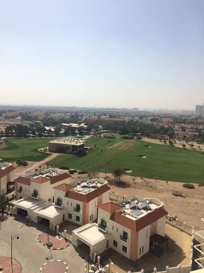 1 Bedroom Flat for Rent in Dubai Sports City, Dubai - 1 Bedroom Apartment | Partial Golf Course View | Olympic Park 2