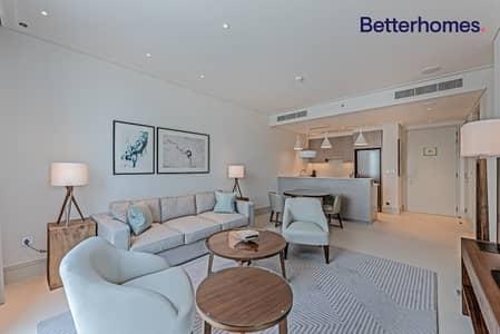 شقة 1 غرفة نوم للايجار في وسط مدينة دبي، دبي - Canal View | Serviced Luxury Apt Balcony