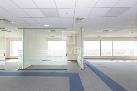 Office for Rent in Sheikh Zayed Road, Dubai - Fitted Office With Partition