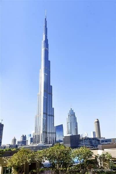 2 Bedroom Apartment for Sale in Downtown Dubai, Dubai - Low floor | Burj Khalifa view | Motivated Selle