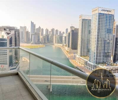 Canal View|2BR+maids +2 Balcony |3 parkings