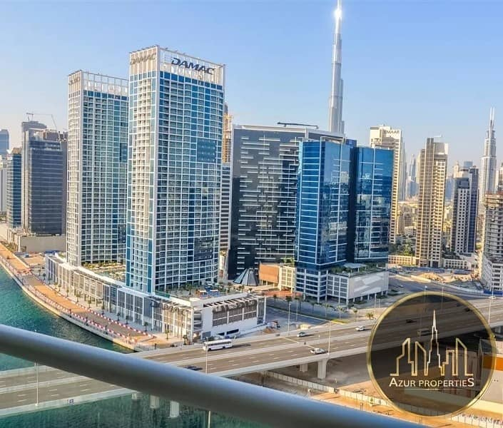 12 Canal View|2BR+maids +2 Balcony |3 parkings