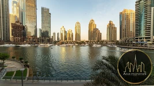 3 Bedroom Flat for Sale in Dubai Marina, Dubai - UNIQUE 3 B/R TERRACE APARTMENT | FULL MARINA VIEW