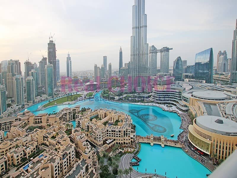 Picturesque Burj View|Highest Floor Fully Serviced