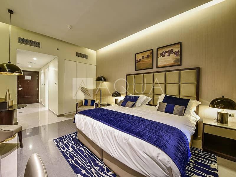 Studio | Fully Furnished | Luxury Furniture