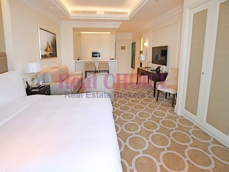2 Highest floor Sea and DIFC view|Fully Serviced