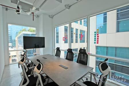 مکتب  للايجار في الخليج التجاري، دبي - Furnished | Corner Office | Open Celling