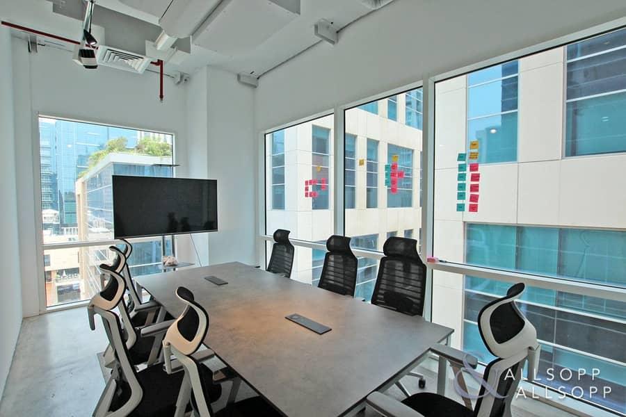 Furnished | Corner Office | Open Celling