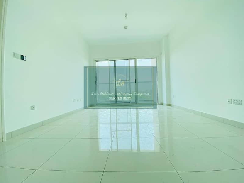 New Finishing! Balcony! 1 Bed with Facilities in Rawdhat