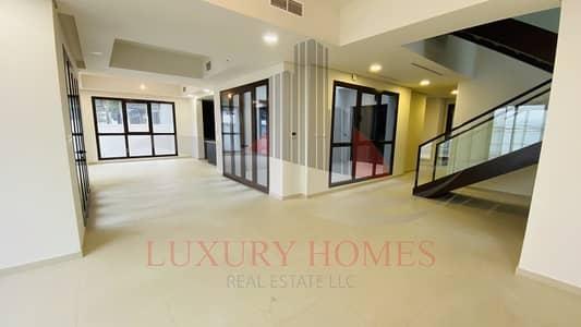 5 Bedroom Villa for Rent in Al Reem Island, Abu Dhabi - Gated Community Back Yard with Beach Access