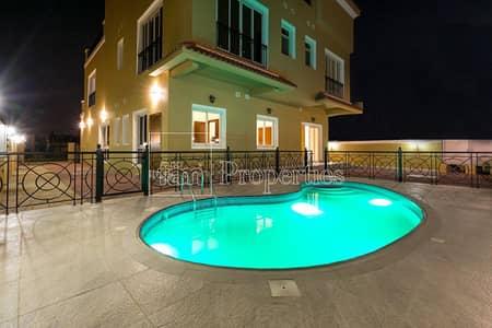 6 Bedroom Villa for Rent in The Villa, Dubai - Finishing