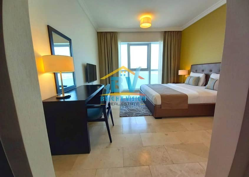 Elegant and Cozy Fully furnished 2 BHK sea view in corniche
