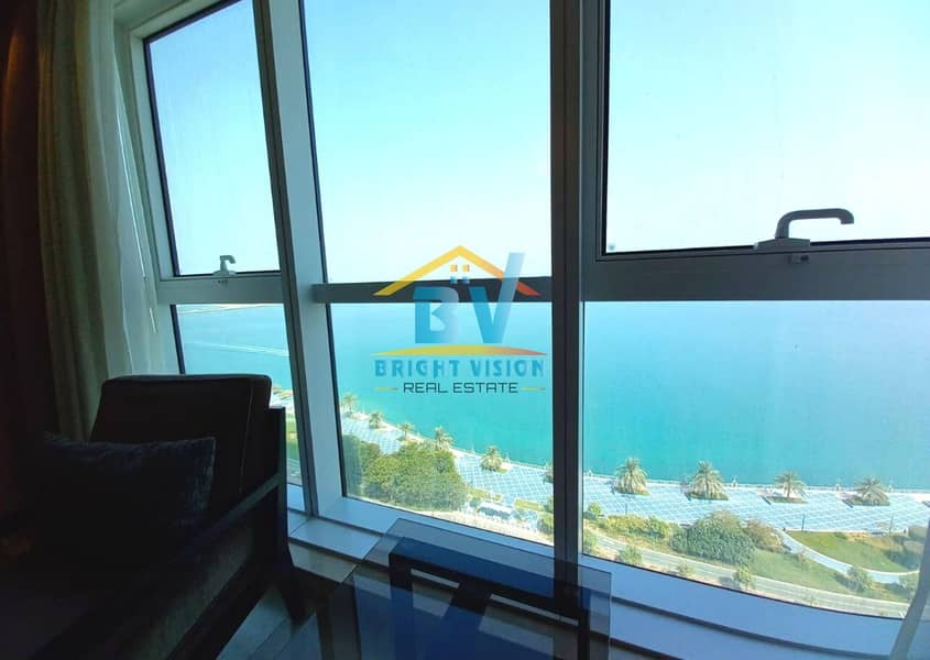 20 Elegant and Cozy Fully furnished 2 BHK sea view in corniche