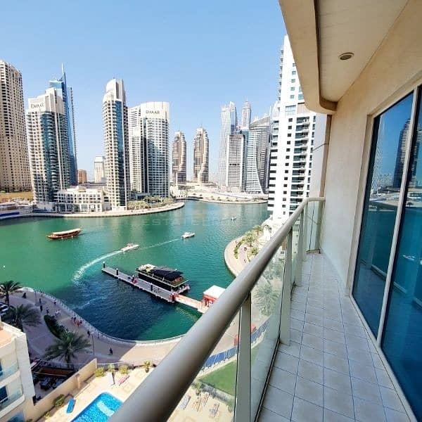 Partial Marina View Middle Floor in 57K / No Agents