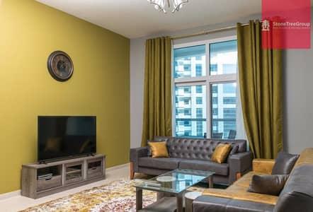 2 Bedroom Apartment for Rent in Barsha Heights (Tecom), Dubai - 2 BR with balcony in TECOM | Al Fahad 2 | 0% Commission